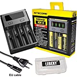 Nitecore NEW i4 Intellicharge Ladegerät für Li-Ion / IMR / Ni-MH / Ni-Cd 26650 22650 18650 18490 18350 17670 17500 17335 16340 RCR123 14500 10440 AA AAA AAAA Batterien Akku