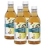 #9: HealthKart Apple Cider Vinegar Pack of 4, 0.5 L Unflavoured