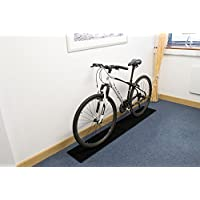 Connected Essentials interior bicicleta ciclo suelo Protector antideslizante, color negro