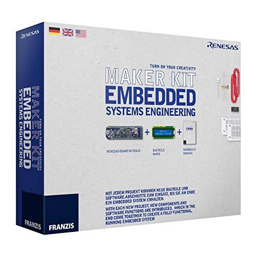 FRANZIS Maker Kit Embedded Systems Engineering: inklusive Renesas-Board RL78/G14, Bauteile und Handbuch. Mit acht Projekten Schritt für Schritt zum eigenen Embedded System