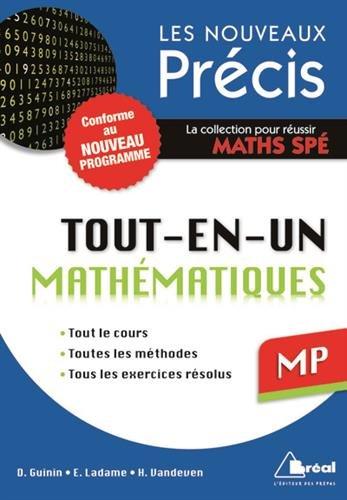 Maths MP - Conforme au programme 2014 - Précis tout-en-un - Cours - Méthode - Exercices