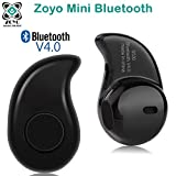 #2: Zoyo Mini Style Wireless Bluetooth Headphone Black S530 1Pcs In-Ear V4.0 Stealth Earphone Phone Headset Handfree Compatible with Samsung, Motorola, Sony, Oneplus, HTC, Lenovo, Nokia, Asus, Lg, Coolpad, Xiaomi, Micromax and All Android Mobiles Bluetooth Headset.