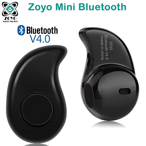 Zoyo Mini Style Wireless Bluetooth Headphone Black S530 1Pcs In-Ear V4.0 Stealth Earphone Phone Headset Handfree Compatible with Samsung, Motorola, Sony, Oneplus, HTC, Lenovo, Nokia, Asus, Lg, Coolpad, Xiaomi, Micromax and All Android Mobiles Bluetooth Headset.  available at amazon for Rs.289