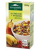 Schneekoppe 10 Fruechte 10 Vitamine Müesli, 2er Pack ( 2 x1 kg)