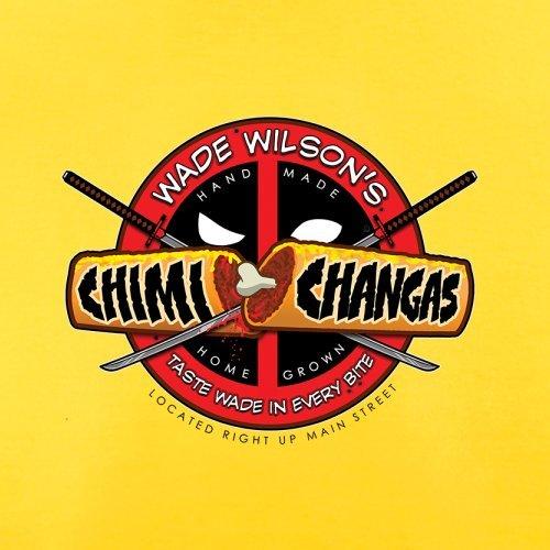 Wade Wilsons Chimi Changas - Herren T-Shirt - 13 Farben Gelb