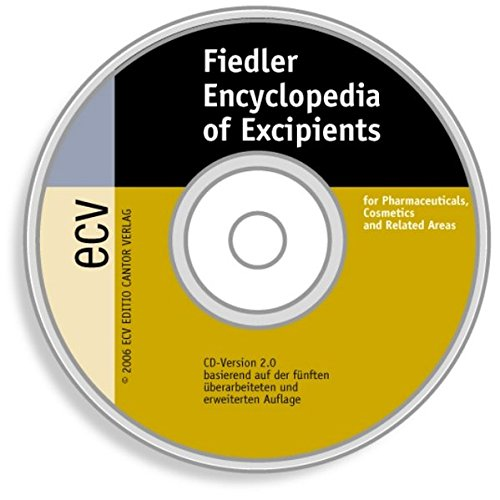 Fiedler - Encyclopedia of Excipients. CD-ROM
