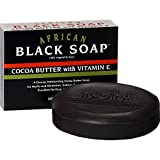 Madina African Black Soap--Cocoa Butter-...