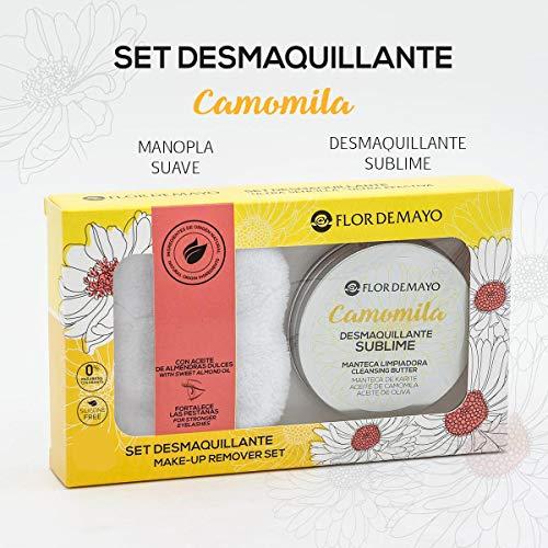 Set Crema Desmaquillante Ojos y Cara de Camomila