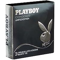 PLAYBOY «Black Tie» (schwarz) - Limited Edition mit 3 Kondomen preisvergleich bei billige-tabletten.eu