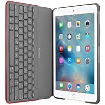 Funda con teclado Canvas de Logitech para iPad Air 2 (MARS RED ORANGE)