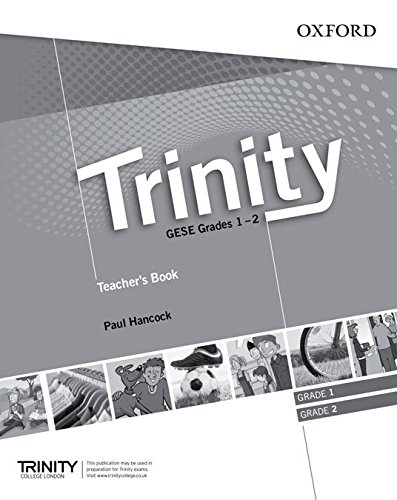 Trinity Graded Examinations in Spoken English (GESE): Trinity Pub Gese Grades 1-2: Teacher's Book Pack (Trinity Graded Exams)
