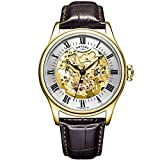 Rotary Locarno Analog Champagne Dial Men...