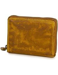 a999b2f8555ad Ven Tomy Kleine Geldbörse Brieftasche für Damen und Herren Leder klein  Vintage