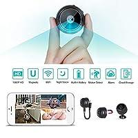 Innoo Tech 2020 WiFi Mini Hidden Spy Camera HD 1080P Wireless Portable Small Camera with Motion Detection and Night Version Home Security Cameras Nanny Cam Video Recorder