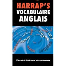 Harrap'S Vocabulaire anglais