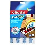 3 X Vileda Active Max Flat Mop Refill Pad