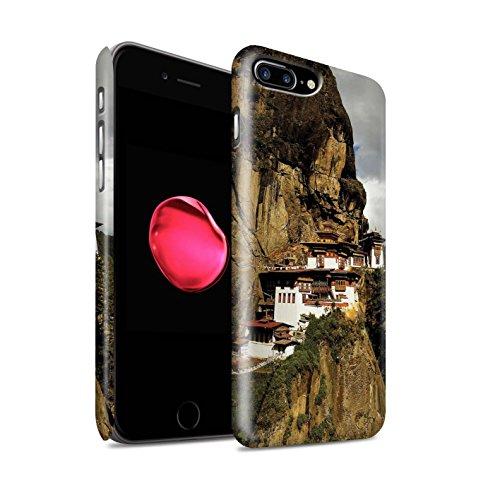 Clipser Matte Coque de Stuff4 / Coque pour Apple iPhone 4/4S / Bouddha de Pierre Design / Paix Intérieure Collection Paro Taktsang