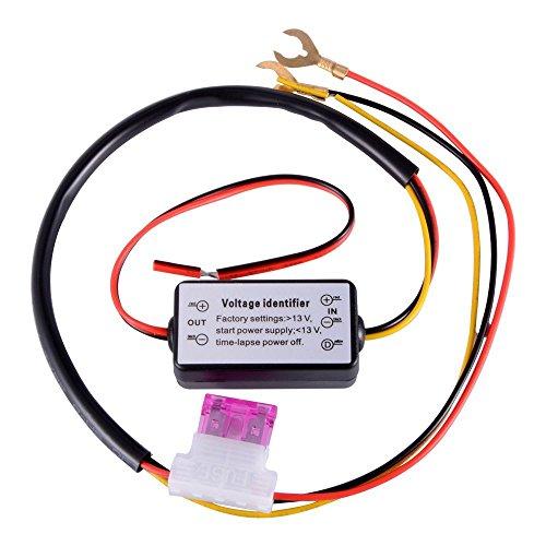 Yangers Controlador de luces de circulación diurna DRL, interruptor de encendido y...