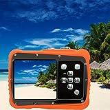 Wasserdichter digitaler HD unter Wasser, staubdicht, mit Riemen und USB-Kabel Tauchen Schwimmen stranden Kinder Kamera 5MP 3m, wasserdicht, 720p, 12MP 2.0Zoll wtdc-5262j TFT LCD-Bildschirm Schwarz
