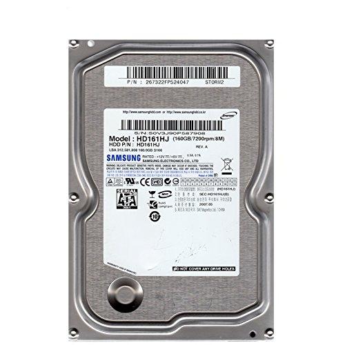 Festplatte SATA-2 160GB Samsung HD161HJ 7200U 8MB