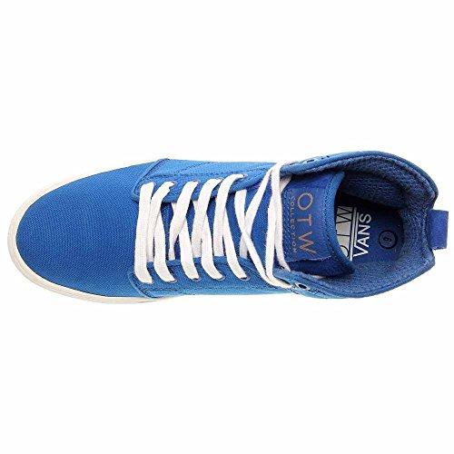 Vans M Alomar, Chaussures en Forme de Bottines Homme bleu/blanc
