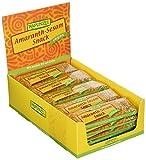 Rapunzel Amaranth-Sesam-Snack, 25er Pack (25 x 25 g)