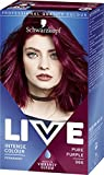 Schwarzkopf Live Intense Colour Pure Purple 086 Pack of 3 Schwarzkopf
