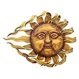Frank Flechtwaren Großer Metall-Hänger Flammende Sonne