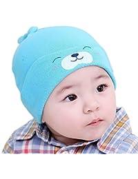Demarkt Confortable Chapeau / Bonnet de Nuit Sommeil en Tricot pour Bébé 6-36 Mois