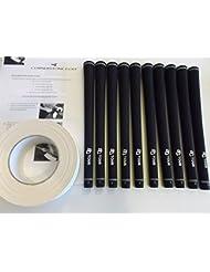 10x almohadillas de golf con cinta y instrucciones * NUEVO *