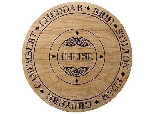 Creative Tops Käsebrett, rund, Holz, mehrfarbig