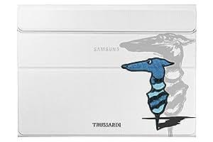 Galaxy Tab S Book Cover Trussardi Istituzionale Blu
