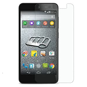 Generic curve Tempered Glass for Micomax A350 (Buy 1 Get 1 Free)