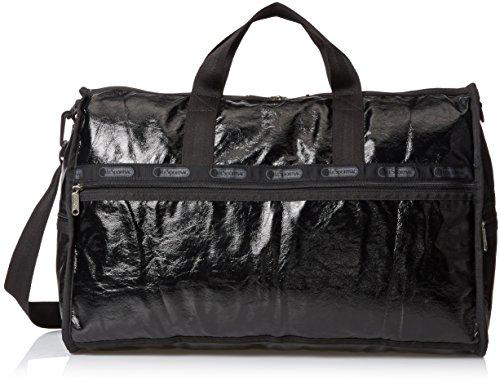 lesportsac-large-weekender-black-crinkle-patent