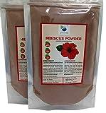 #10: QYKKARE Premium Hibiscus Powder (100gm X 2) 100% Pure