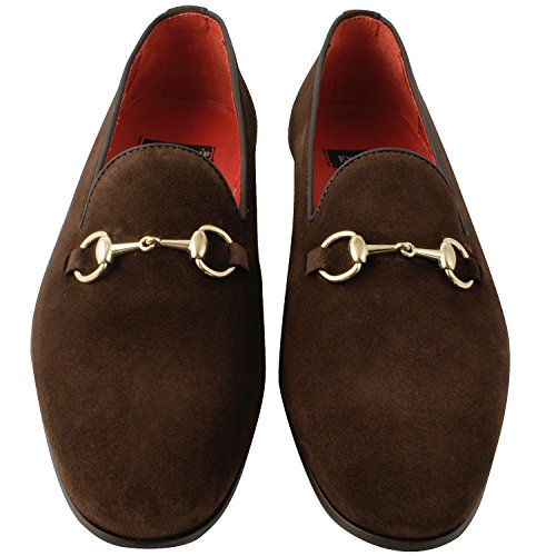 Exclusif Paris  Exclusif Paris Alec, Chaussures homme Mocassins homme,  Herren Slipper & Mokassins Braun - braun