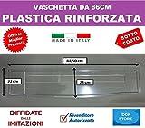 IDOR STORE BASE VASCHETTA RACCOGLIGOCCE SCOLAPIATTI COLAPIATTI 86 CM PLASTICA RINFORZATA