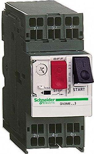 Schneider Electric GV2ME063 Disyuntor Magneto Térmico 1-1,6 A, Conexión por Resorte