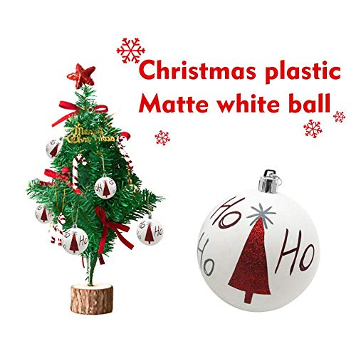 k Kugel Weihnachtsbaum Hängekugel Weihnachtskugel Christbaumschmuck für Indoor Outdoor ()
