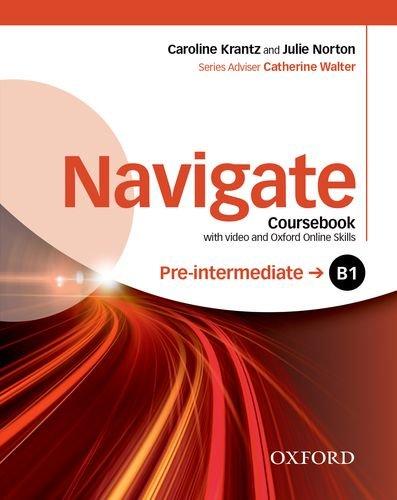 Navigate B1 Pre-intermediate : Coursebook (1DVD)