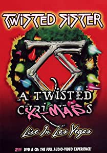 Twisted Sister - A Twisted Christmas Live In Las Vegas (+ Audio-CD) [2 DVDs]
