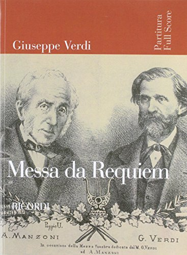 Messa Da Requiem: Full Score