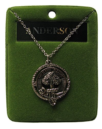 Scottish Clan Crest Pewter Pendant - Selection of Crests Available