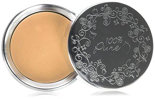 100% pure cosmétique naturel Fruit pigmen Ted Cream Foundation – Peach Bisque, Net Wt. 0,32 oz/9 g