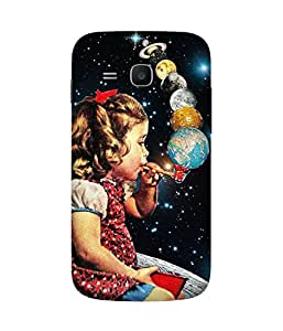 Smoking Planets Back Cover Case for Samsung Galaxy Ace 3