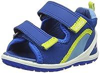 Ecco Baby Boy's Lite Infants Sandal Walking Shoes, Blue (50289bermuda Blue/Bermuda B/Sky Blue), 5.5 UK