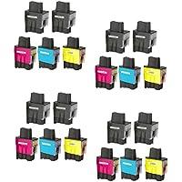 Prestige Cartridge LC900 / LC950 20 Cartucce d'Inchiostro Compatibile per