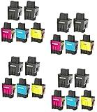 Prestige Cartridge LC900 / LC950 Lot de 20 Cartouches d'encre compatible avec...