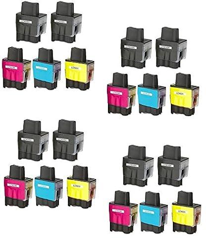 Prestige Cartridge LC900 / LC950 Lot de 20 Cartouches d'encre