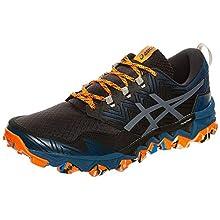Asics GEL-Fujitrabuco 8, Men's Running Shoes, Directoire Blue/Carrier Grey, 11 UK (46.5 EU)